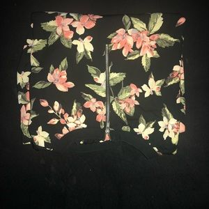 Forever 21 Tops - Black long sleeve floral shirt.